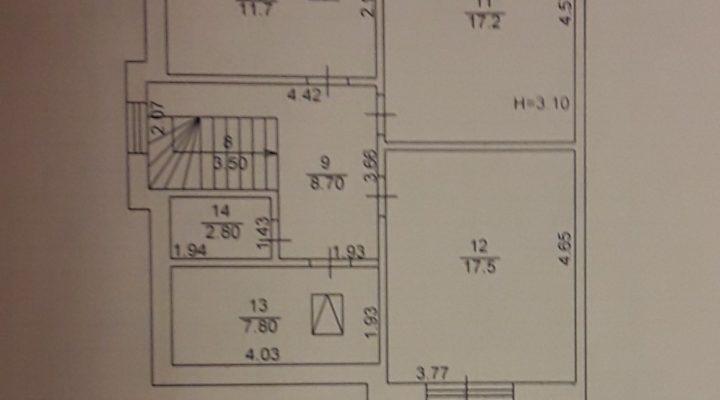 Продается дуплекс - таунхаус в Буче 137 кв.м. без комиссии. С документами. floorplan 5