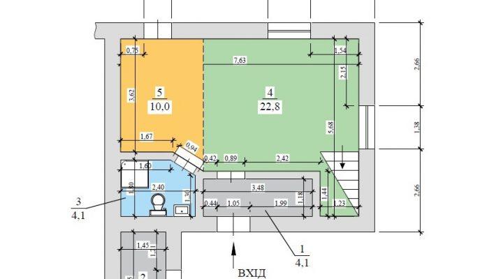 Купить таунхаус дуплекс в Киеве Берковцы с ремонтом и мебелью floorplan 1