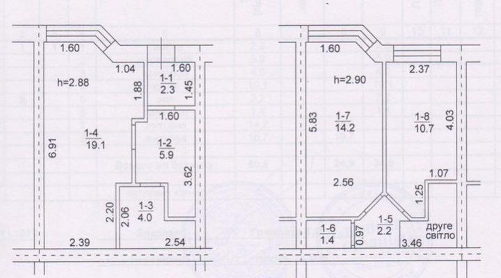 Таунхаус в Софиевской Борщаговке Киев 3.5 км. С документами и центральной канализацией. floorplan 1
