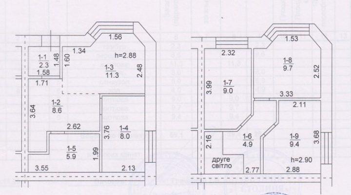 Продажа готового таунхауса в Софиевской борщаговке 3.5 км от Окружной дороги. floorplan 1